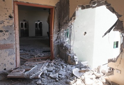A Gaza Vocational College Devastated by the War