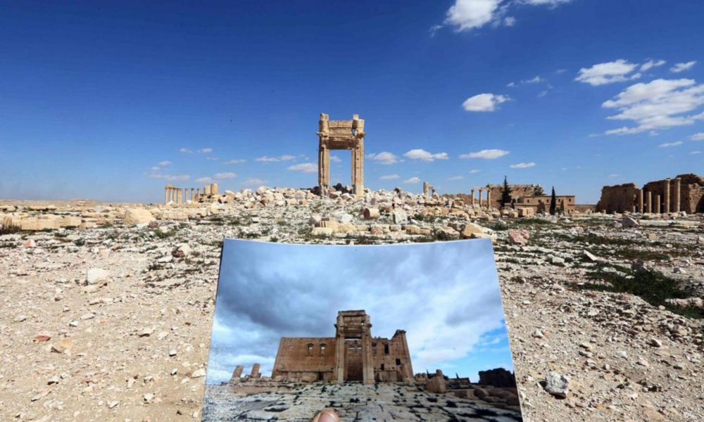 Hope Emerges for Historic Sites in Palmyra