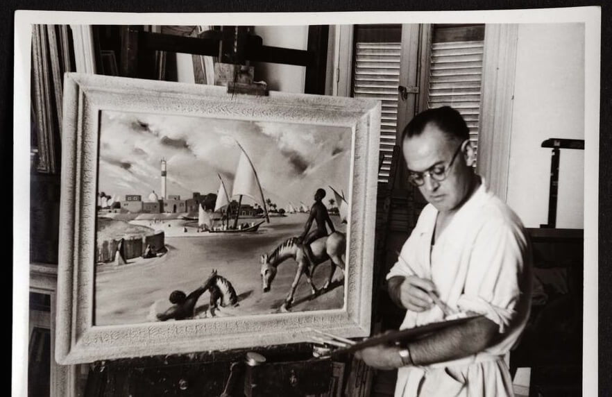 Catalogue Reveals Pioneering Egyptian Painter's Legacy