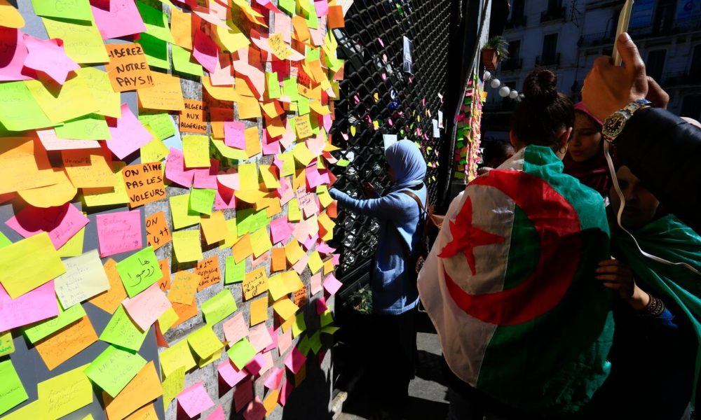 Algerian Students Thwart President Bouteflika's Bid for Fifth Term