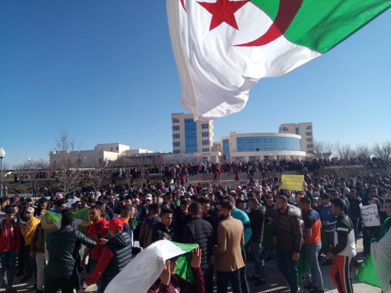 Algeria's Student Strikes Put the Current Academic Year at Risk