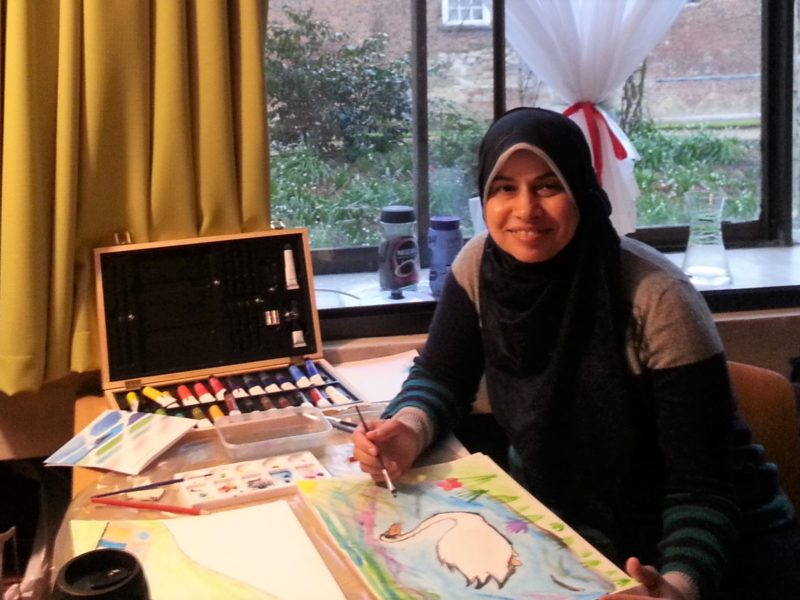 Mona Jebril, a Palestinian, Looks at 'Hidden Injuries' That Limit Education
