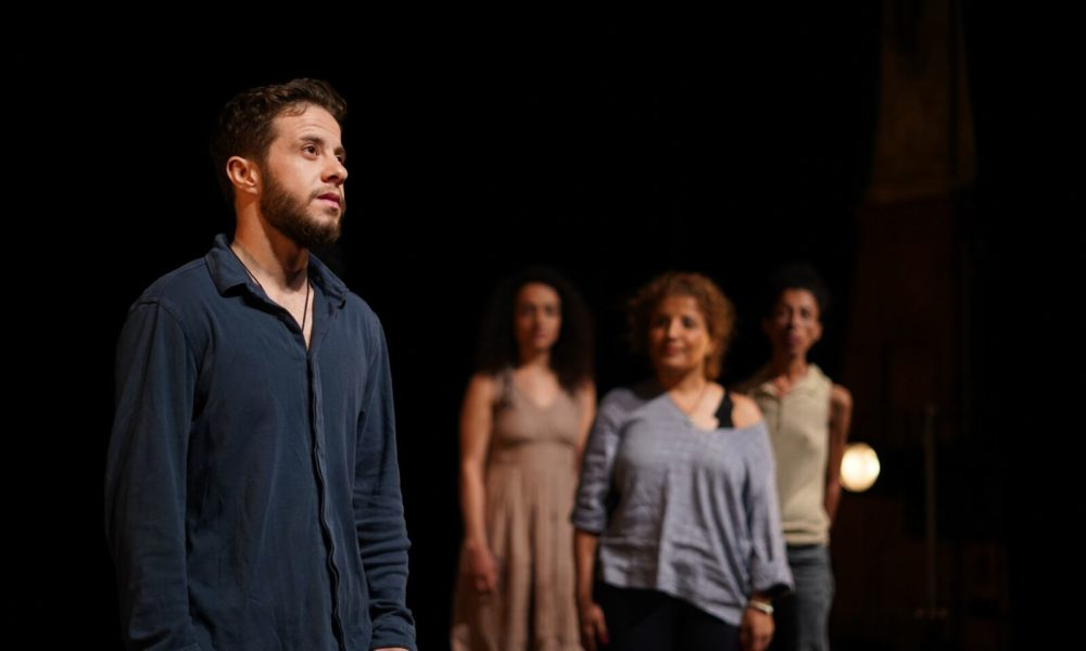 Former Syrian Prisoners Reenact Their Experiences on Stage