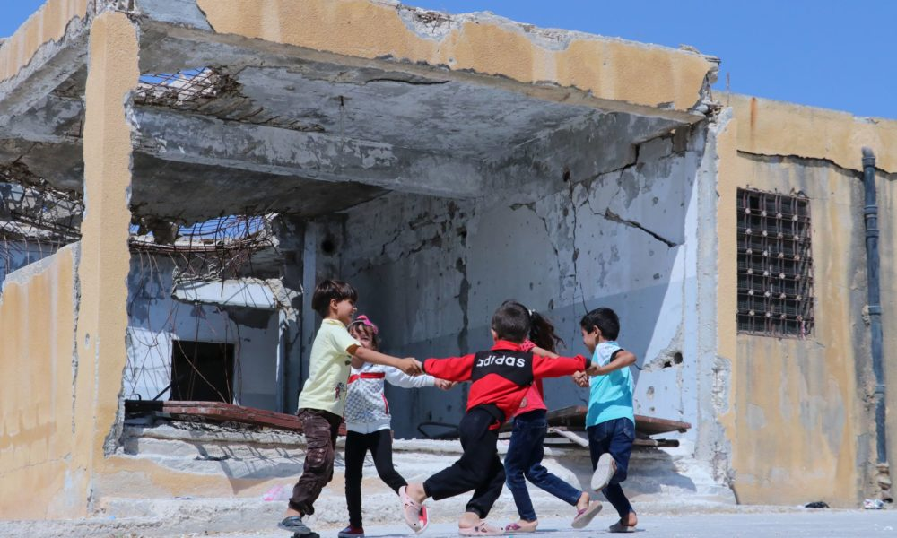 Syrian Children Near Idlib Face Damaged, Abandoned, and Repurposed Schools