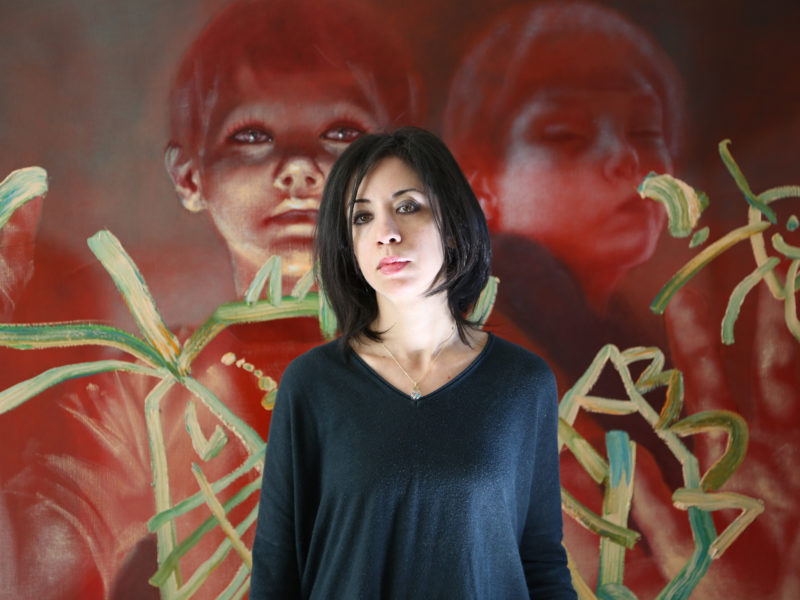 Exhibition Combines Research and Painting to Portray Modern Slavery's Survivors
