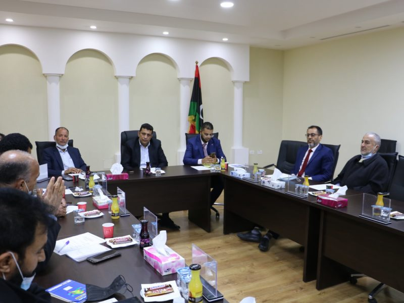 syndicate representing Libyan university professors