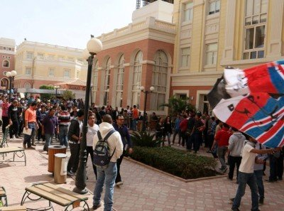 At British University in Egypt, Students End Protests